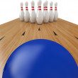 Stock Photo: Bowling Ball
