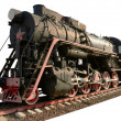 The oldest steam locomotive — Stock Photo