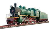 The oldest steam locomotive — Stock Photo