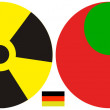 germany and the nuclear policy after fukushima — Stock Photo