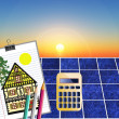 Solar energy — Stock Photo #5541463