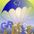 Current Euro crisis with Greece — Stock Photo #5617385