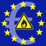 Постер, плакат: Euro crisis