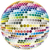 Sphere with full color spectrum — Stock Photo