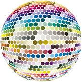 Kula z pełnym kolorów widma — Zdjęcie stockowe