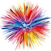Color explosion — Stock Photo