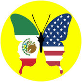 USA and Mexico — Stock Photo