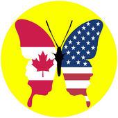 USA and Canada — Stock Photo
