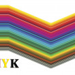 CMYK color spectrum — Stock Photo #6434626