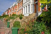 Victorian terrace houses — Stock Photo