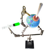 Natural disaster save the world — Stock Photo