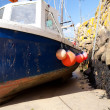 Fishing boat harbor — Stock Photo #6452498