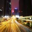 Royalty-Free Stock Photo: Traffic in Hong Kong at night