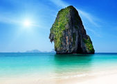 Railay beach in krabi thailand — Stockfoto