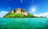 Poda island in Krabi Thailand — Stock Photo
