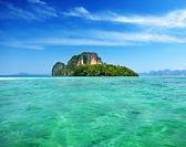 Ilha de poda em krabi-tailândia — Foto Stock