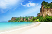Playa de railay en krabi tailandia — Foto de Stock