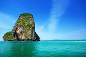 Rockson Railay beach in Krabi Thailand — Stock Photo
