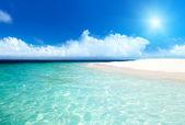 Moře a písek — Stock fotografie