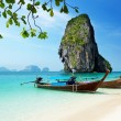 Railay beach in Krabi Thailand — Stock Photo #6143103