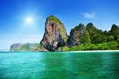 Rockson Railay beach in Krabi Thailand — Stock Photo