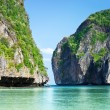 Stock Photo: Phi Phi island Maybay