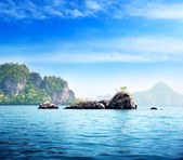 Islands in Andaman sea Thailand — Stock Photo