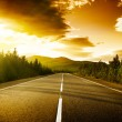 Sunset on the road — Stock Photo #6583756