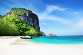 Beach on poda island in Thailand — Stock Photo