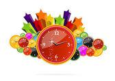 Creative classic chronometer — Stock Vector