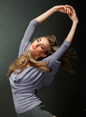 Shot of an expressive dancer — Stock Photo