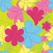 Flower seamless pattern — Stock Vector #5445728