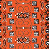 Africa stile ornament background — Stock Vector