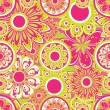 Flower pattern seamless — Stock vektor