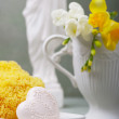 Stock Photo: Soap and sponges