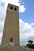Bell tower in San Leo — Stock Photo