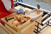 Trdlo Czech dessert — Stock Photo