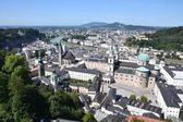 Panoramic view of Salzburg — Stock Photo