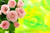 Bouquet of miniature roses. — Stock Photo