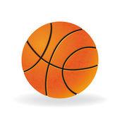 Ball for playing basketball game — Stock Vector
