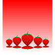 Stock Vector: Strawberry