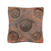 Square coin — Stock Photo
