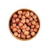 Hazelnut kernel — Stock Photo
