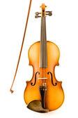 旧小提琴弓 — 图库照片