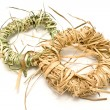 Royalty-Free Stock Photo: Wreaths made of straw