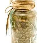 在玻璃瓶中香料 — 图库照片