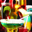 Coctail party or cocktail close-up - Stock Photo