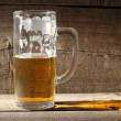 Mug beer - Stock Photo