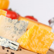 Cheese close-up - Stock Photo