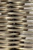 Монеты крупным планом — Стоковое фото